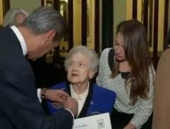 A absolvit la 94 de ani facultatea pe care a inceput-o cu 7 decenii in urma