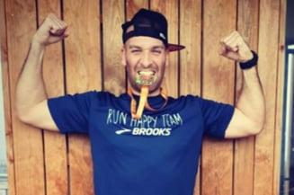 "A alergat un maraton intreg in propriul balcon: Cat timp i-a luat sa termine ""cursa"""