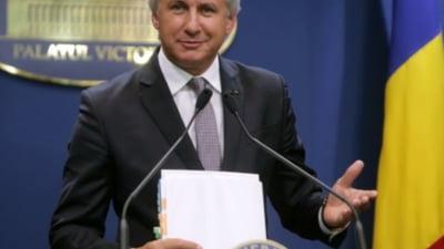 A aparut documentul prin care Teodorovici anunta CE ca salariile si angajarile la stat ar putea fi inghetate la anul