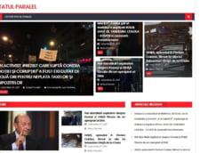 A aparut si site-ul statulparalel.com, inregistrat de PSD, cu stiri impotriva DNA si a protestatarilor