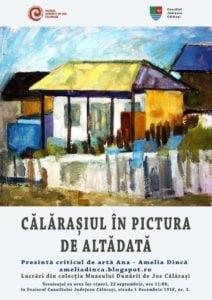 """A avut loc vernisajul expozitiei """"Calarasi in pictura de altadata"""""""