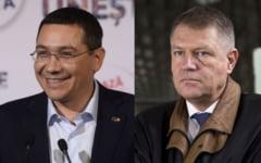 A doua confruntare Ponta-Iohannis, la B1TV: Iohannis: Domnule Ponta, i-a prostit domnul Basescu pe romani cand v-a pus premier? Pe mine m-a refuzat