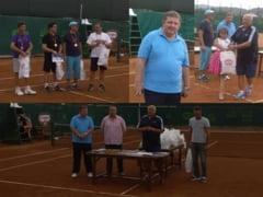 A doua editie Dr. Oetker Press Cup la tenis si-a desemnat castigatorii