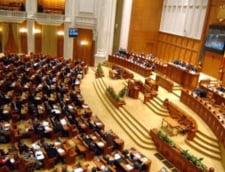 A doua motiune de cenzura pe legea salarizarii unitare a fost citita in Parlament