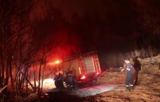 """A doua zi de incendii devastatoare în Grecia. """"Am trăit iadul"""""""