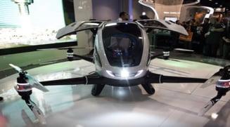 A fost creata drona taxi: Cat costa si cand va fi disponbila pe piata