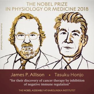 A fost decernat Nobelul pentru Medicina. Descoperirea revolutioneaza lupta impotriva cancerului