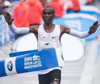 A fost doborat recordul mondial la maraton. Performanta uriasa pentru Eliud Kipchoge, campionul olimpic al probei