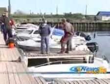 A fost gasit trupul unui disparut pe lacul Razelm