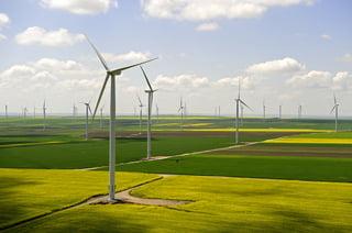 A fost reluata constructia parcului eolian din Dobrogea