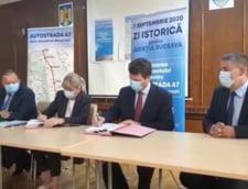 A fost semnat contractul de proiectare a drumului expres care traverseaza Romania de la nord la sud