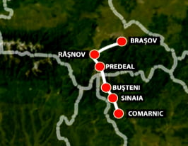 A fost stabilit traseul autostrazii Comarnic-Brasov