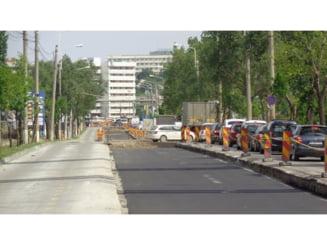 A fost turnat covor asfaltic nou in Tudor Vladimirescu