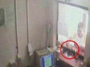 A furat 36.000 de lei filmat de camerele de supraveghere (Video)