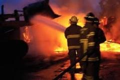 A incendiat adapostul de animale