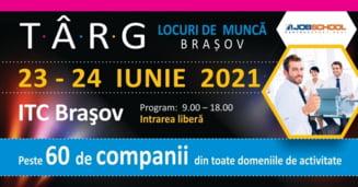 A inceput cel mai mare targ de locuri de munca la Brasov!