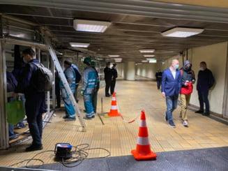 A inceput daramarea chioscurilor ilegale de la metrou, in statia Stefan cel Mare