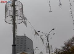 A inceput instalarea luminitelor de Craciun in Bucuresti (Galerie foto)