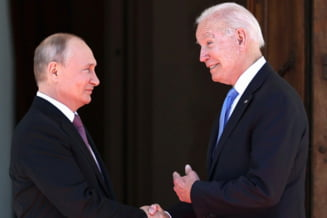 A inceput intalnirea dintre Vladimir Putin si Joe Biden