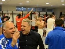 A inceput petrecerea! Cum au dansat Sumudica si jucatorii Astrei dupa victoria cu Steaua (Video)