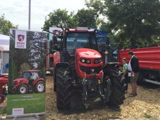 A inceput productia de serie a primului tractor 100% romanesc, conceput la Reghin