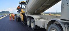 A inceput turnarea asfaltului la autostrada