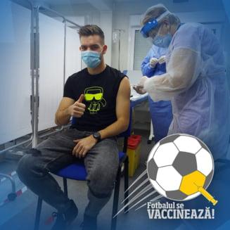 A inceput vaccinarea in fotbalul romanesc. Cine sunt primii oameni imunizati