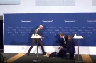 A lesinat in conferinta de presa, chiar cand anunta ca Danemarca suspenda administrarea vaccinului AstraZeneca VIDEO