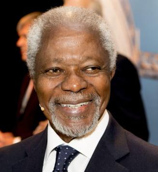 A murit Kofi Annan, fost secretar general al ONU si laureat al Premiului Nobel pentru Pace