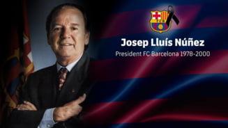 A murit cel mai longeviv presedinte din istoria Barcelonei: A fost omul care i-a transferat pe Hagi si Gica Popescu