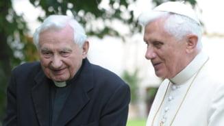 A murit fratele Papei emerit Benedict al XVI-lea