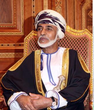 A murit sultanul Omanului, dupa o domnie de 50 de ani