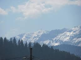 A nins in Bucegi