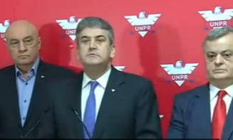 A reaparut Gabriel Oprea si ne anunta strategia UNPR in raport cu PSD si Guvernul Ciolos (Video)