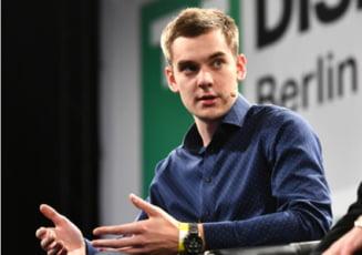 A renuntat la facultate si a devenit cel mai tanar fondator al unei companii de 1 miliard de dolari din Europa