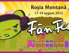 A saptea editie a festivalului FanFest, la Rosia Montana