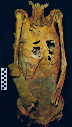 A trait in urma cu 3.000 de ani si era plina de tatuaje. Femeie si extrem de respectata. Ce-au descoperit arheologii in Egipt