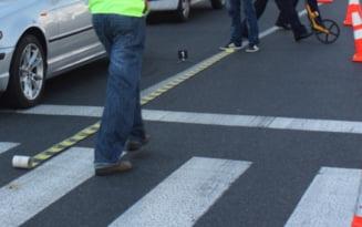A traversat strada prin loc nepermis si a fost acorsat de un autoturism