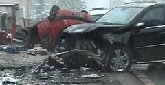 A treia victima din accidentul provocat de Huidu a murit