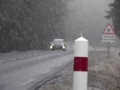 A venit iarna in Europa - Zapezile pun stapanire pe Franta