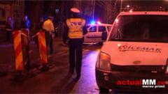 ACCIDENT - O femeie care a traversat neregulamentar strada a fost lovita de o masina (VIDEO)