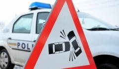 ACCIDENT: 3 masini s-au tamponat in una din cele mai periculoase intersectii din Valcea