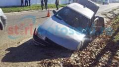 ACCIDENT! Darabani: Cinci copile au ajuns la spital, dupa ce masina condusa de profesorul lor a intrat intr-un cap de pod! FOTO