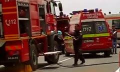 ACCIDENT CUMPLIT intr-un judet vecin. Un autocar s-a ciocnit violent cu un autoturism si dou persoane au decedat pe loc!