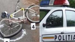 ACCIDENT MORTAL in VALCEA. Biciclist acrosat de un echipaj al POLITIEI MACIUCA. La volan se afla chiar seful de post