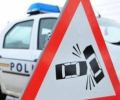 ACCIDENT cu trei masini la Copacelu