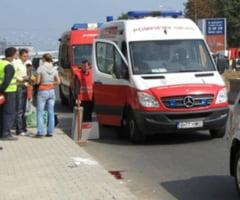 ACCIDENT in RAMNIC: Un pieton s-a dezechilibrat si a cazut in fata masinii