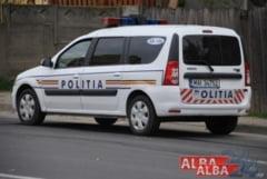 ACCIDENT la Ocna Mures: A condus baut si a intrat cu masina intr-un autoturism parcat. Dosar penal pentru un localnic de 43 de ani