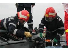 ACCIDENT rutier cu victime, la Letcani