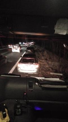 ACUM. Trafic intrerupt pe Autostrada A1, din cauza unui accident rutier! Intervin pompierii giurgiuveni (FOTO)
